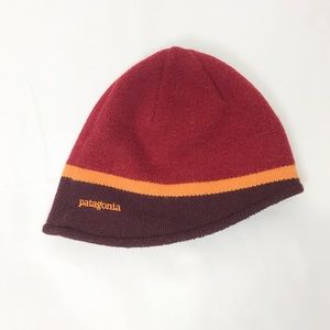 Patagonia Knit Winter Hat Red Stripe One Size